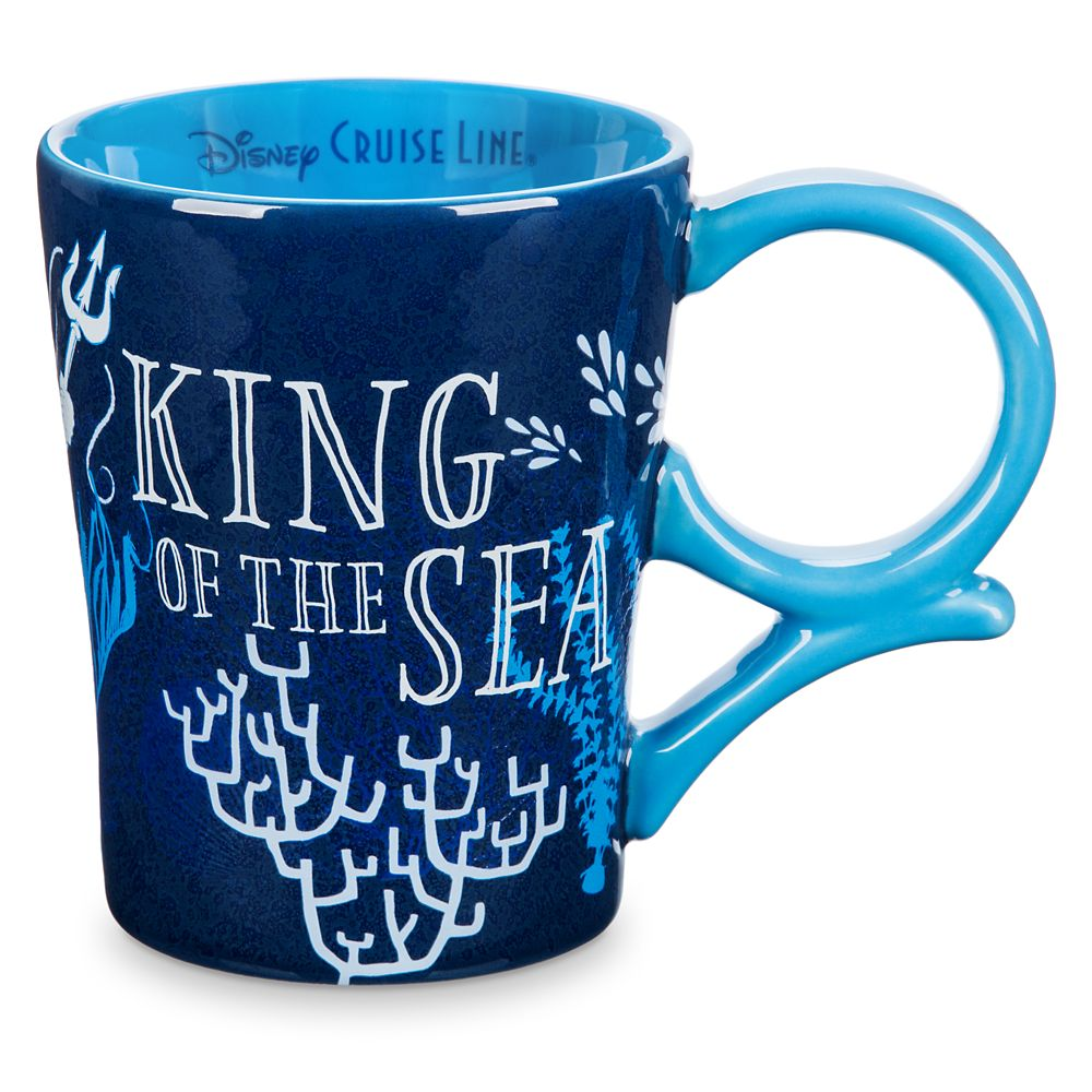 King Triton Mug  The Little Mermaid  Disney Cruise Line