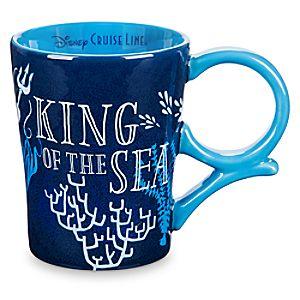King Triton Mug - The Little Mermaid - Disney Cruise Line