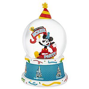 Mickey Mouse Light-Up Snowglobe - Mickey's Celebration