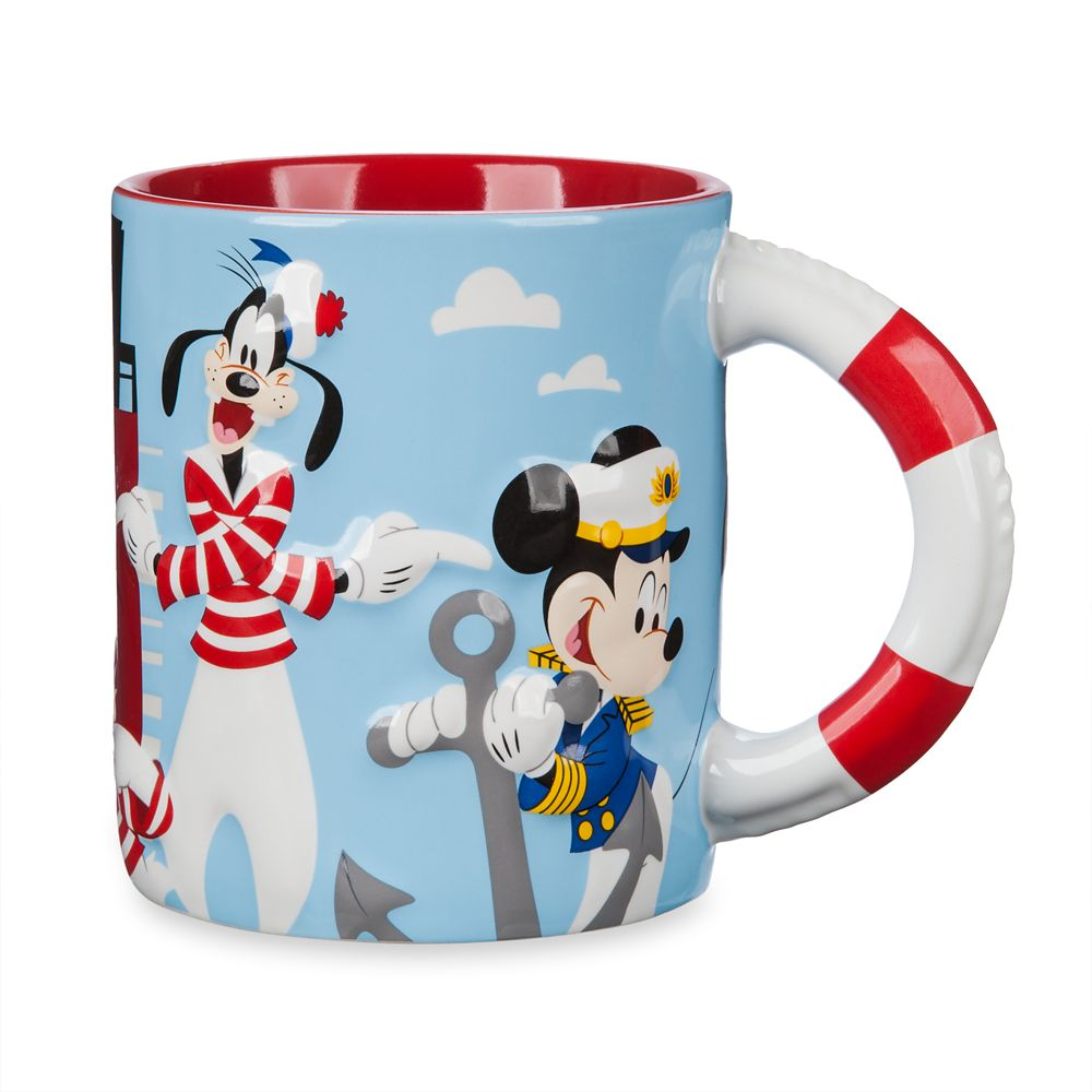 Mickey Mouse and Friends Mug – Disney Cruise Line