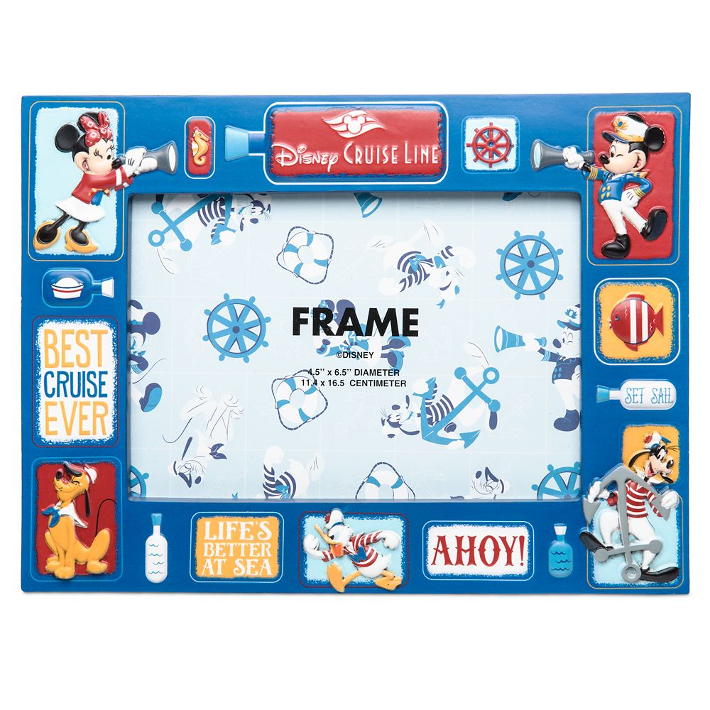 Mickey Mouse and Friends Photo Frame  Disney Cruise Line