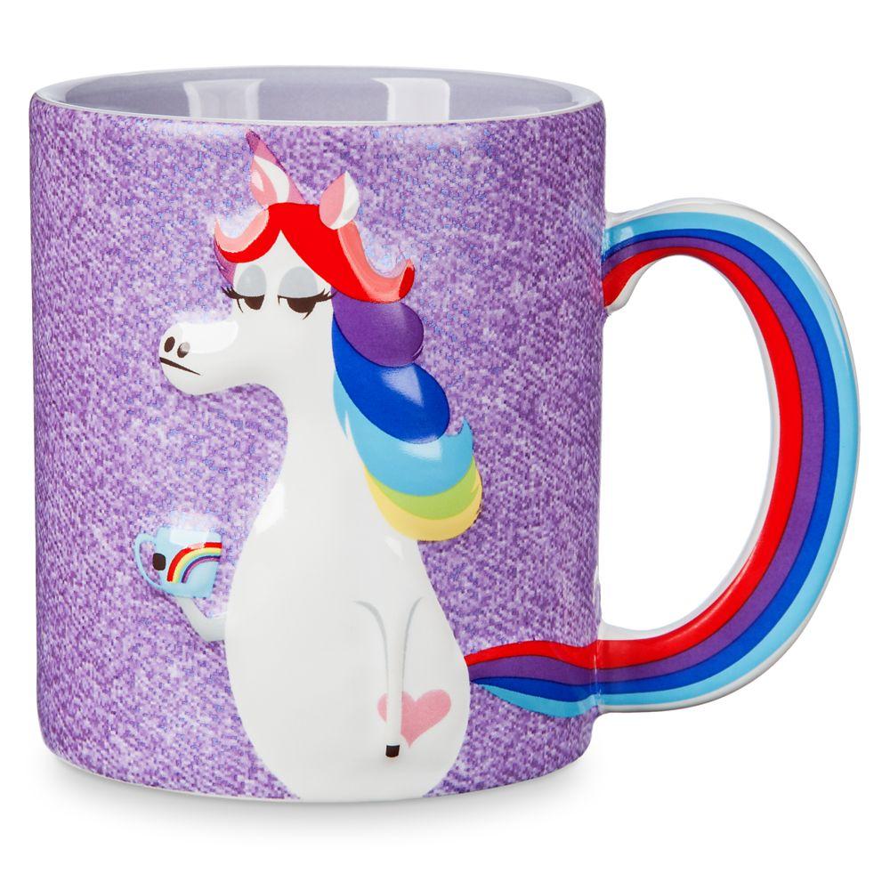 Rainbow Unicorn Figural Mug – Inside Out