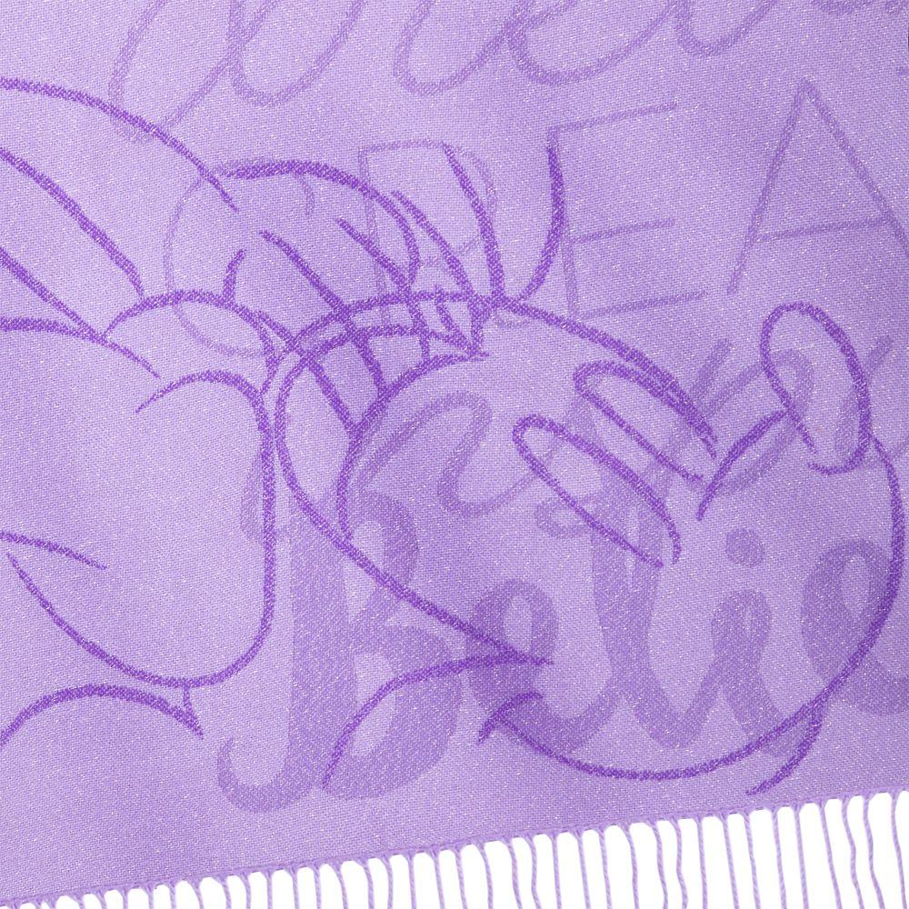 Minnie Mouse Purple Throw
