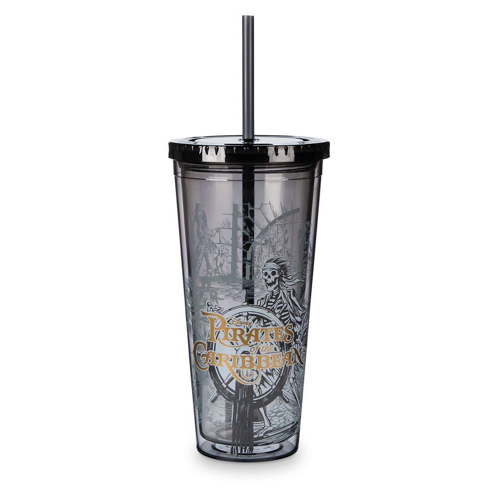 Pirates of the Caribbean Tumbler with Straw – Large
