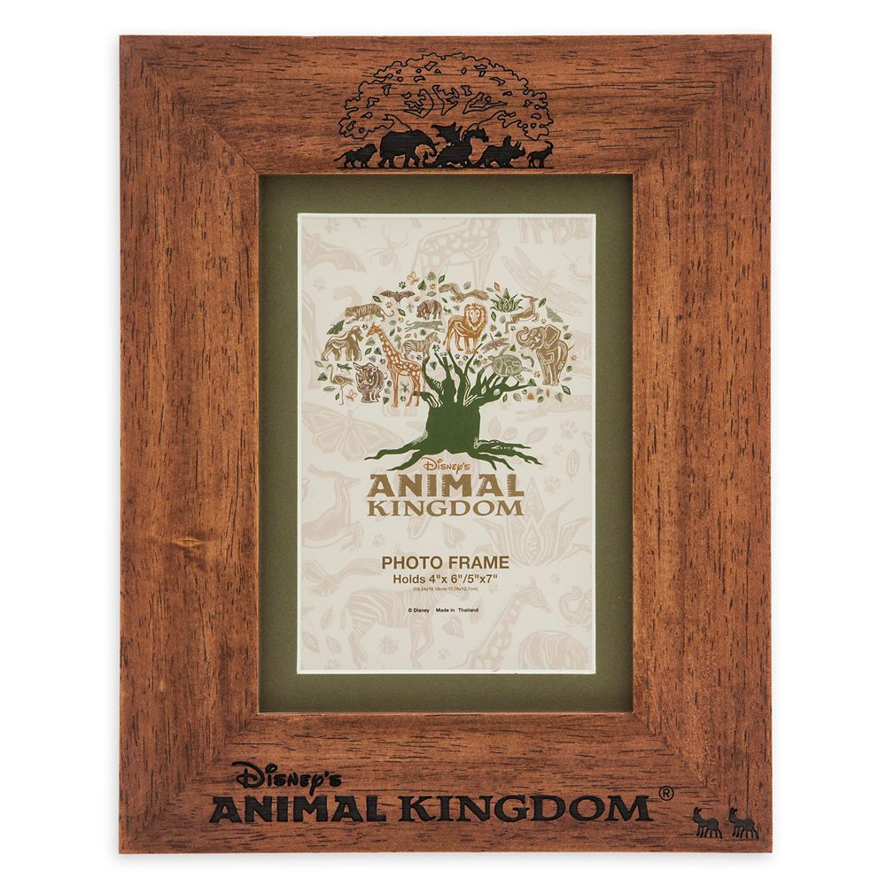 Disney's Animal Kingdom Wooden Photo Frame – 4'' x 6'' or 5'' x 7''