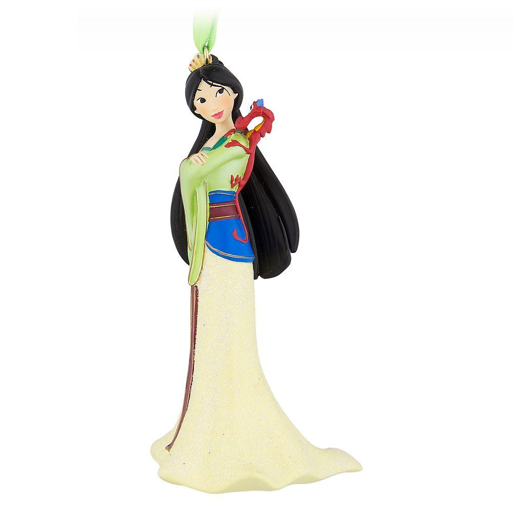 Mulan Figural Ornament