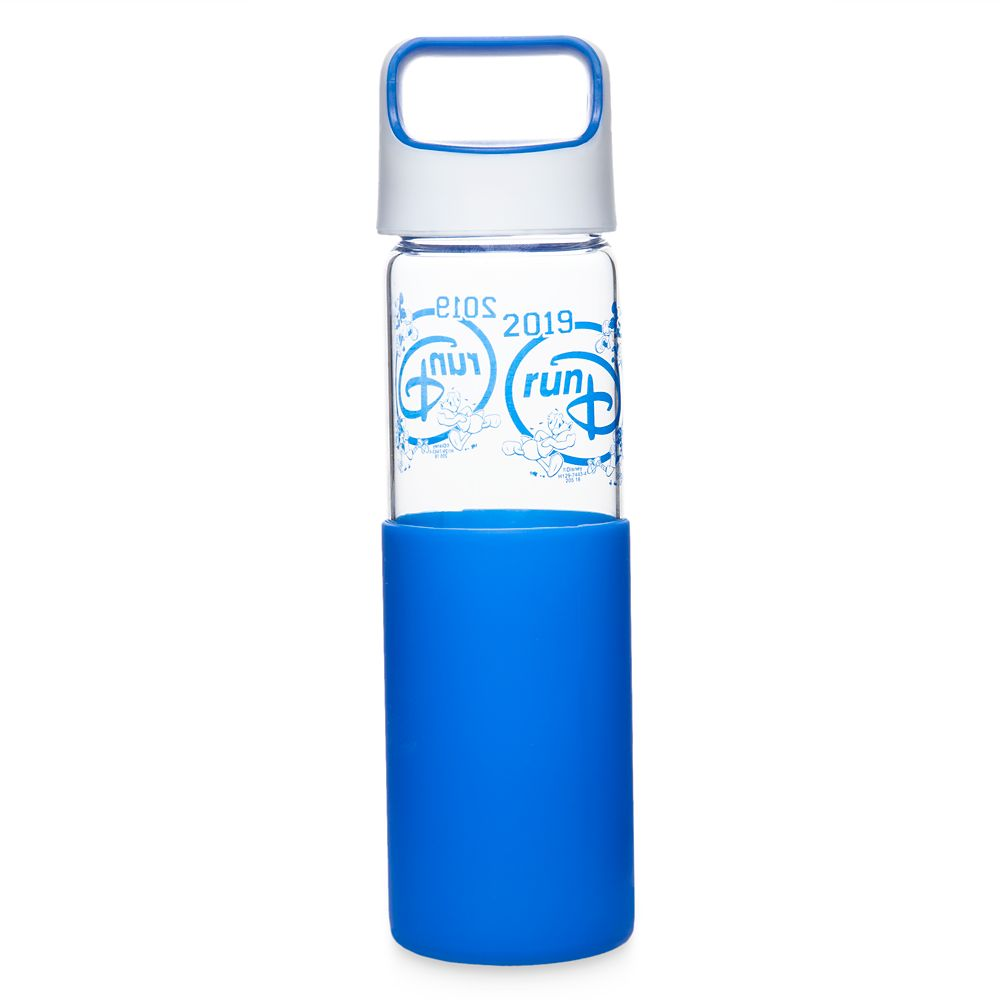 Mickey Mouse and Friends runDisney Glass Water Bottle – 2019