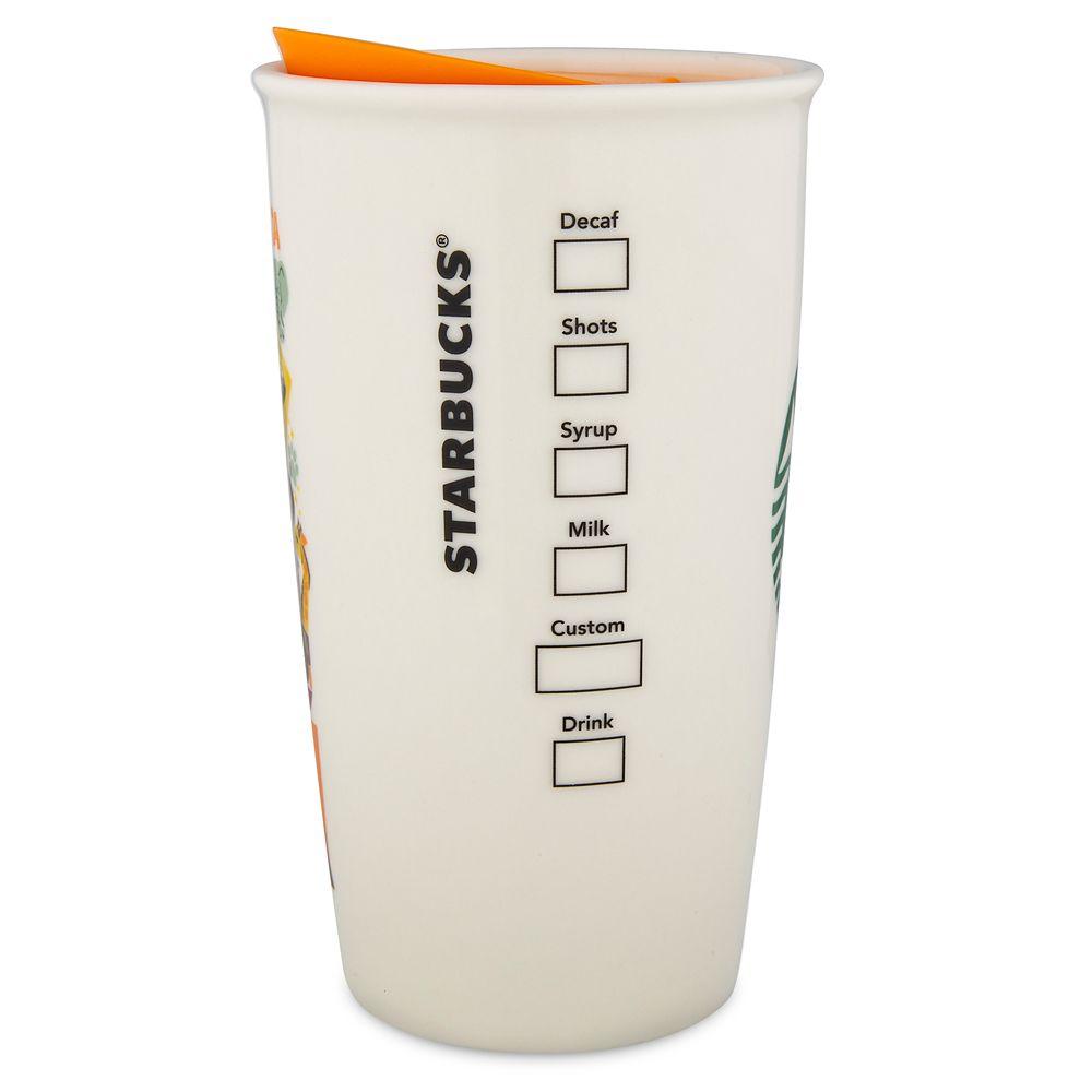 Disney's Animal Kingdom Starbucks Ceramic Travel Tumbler