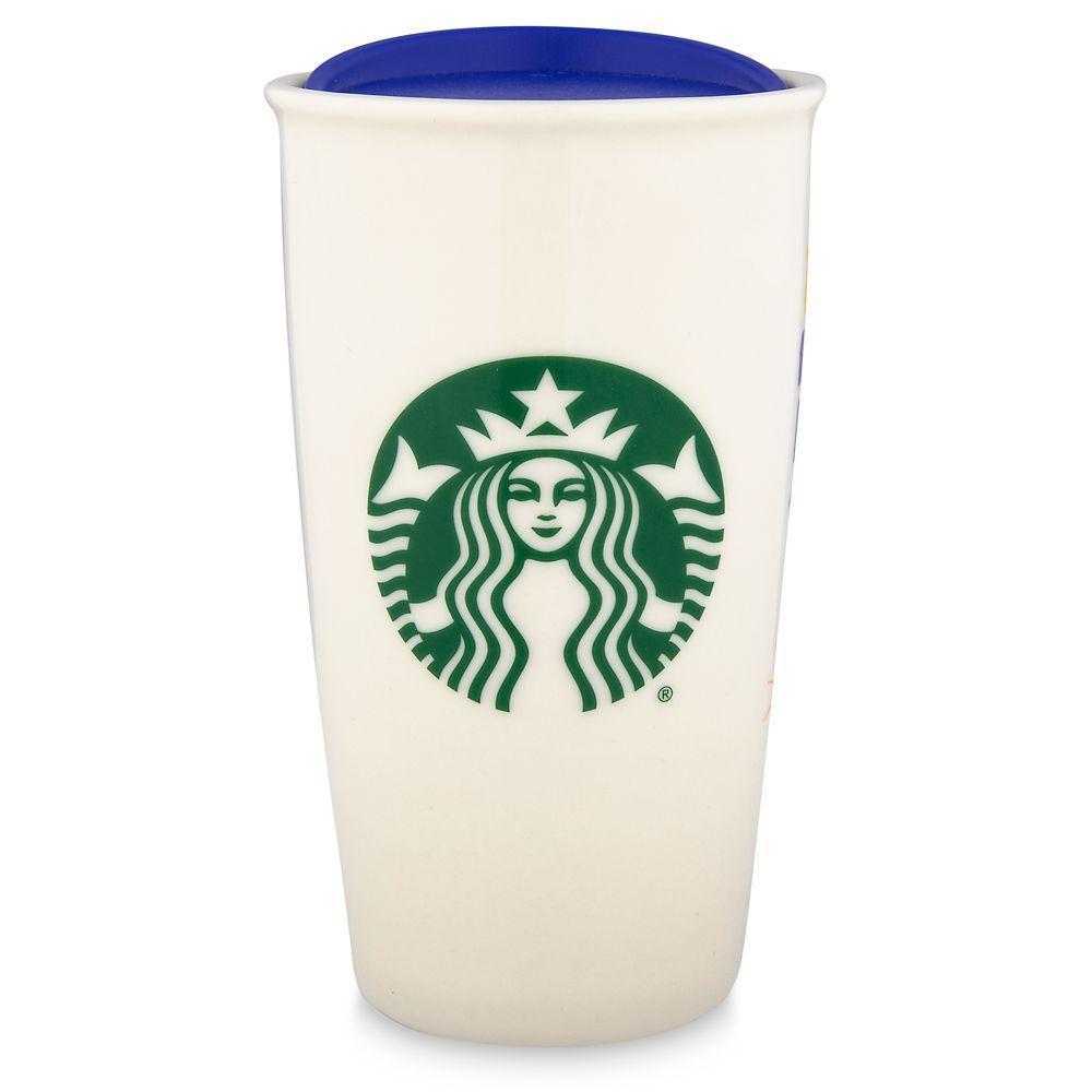 Epcot Starbucks Ceramic Travel Tumbler