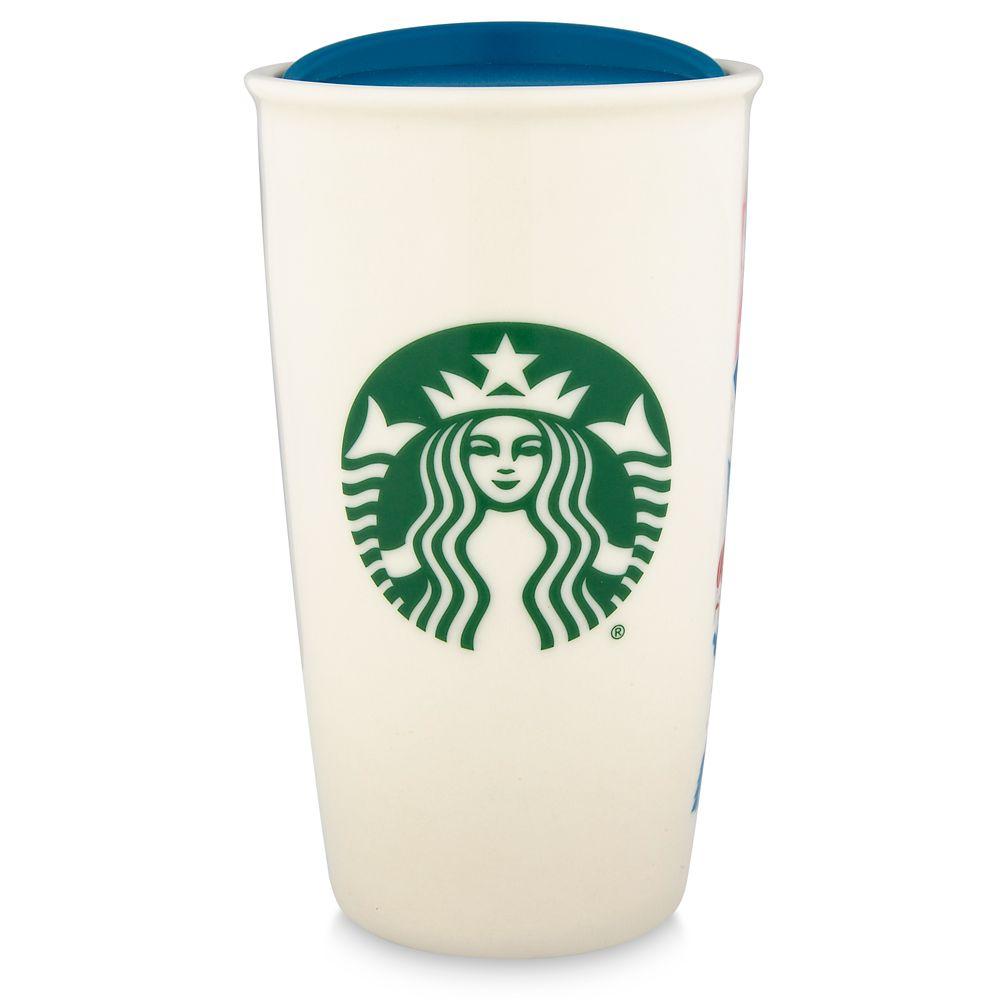 Disneyland Starbucks Ceramic Travel Tumbler