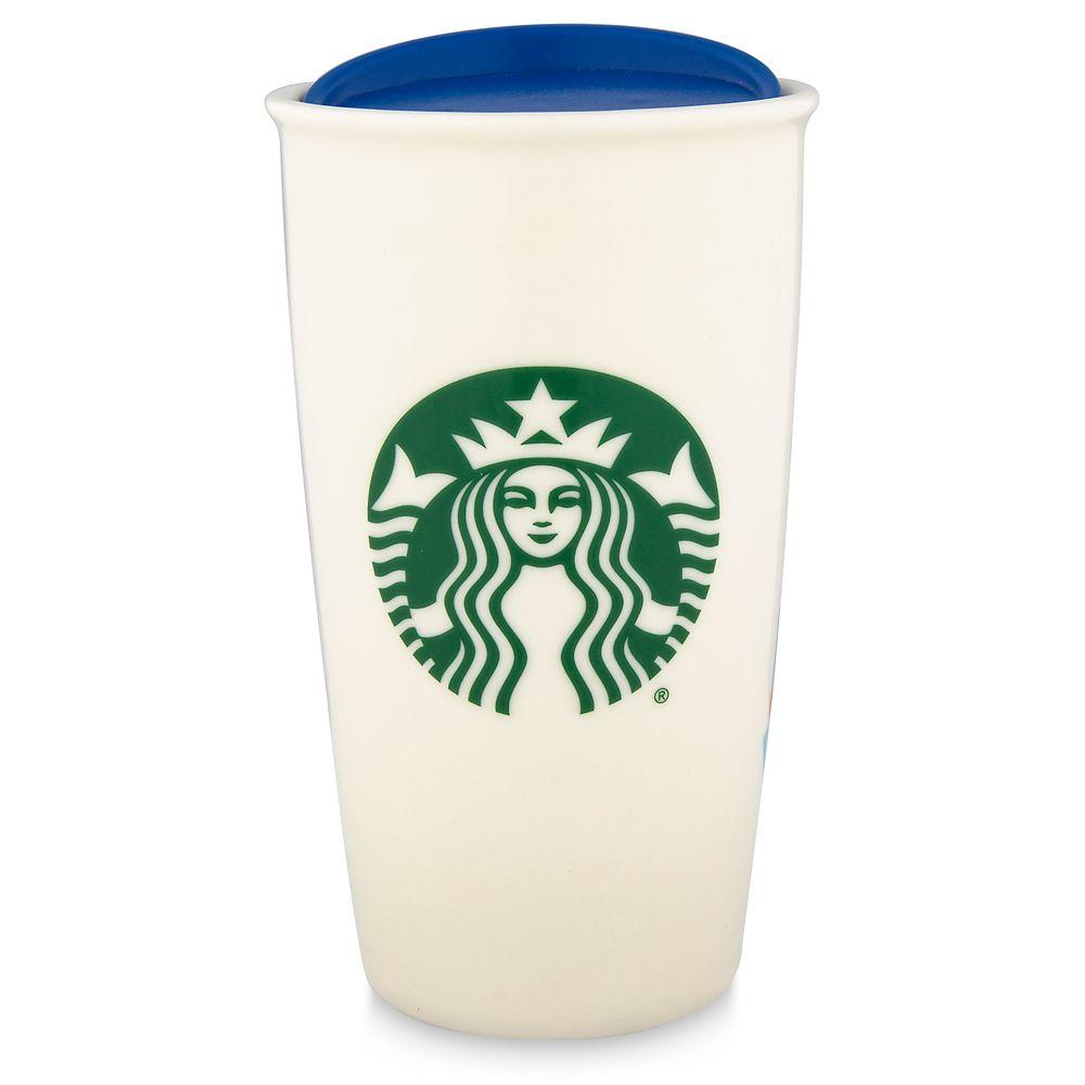 Magic Kingdom Starbucks Ceramic Travel Tumbler