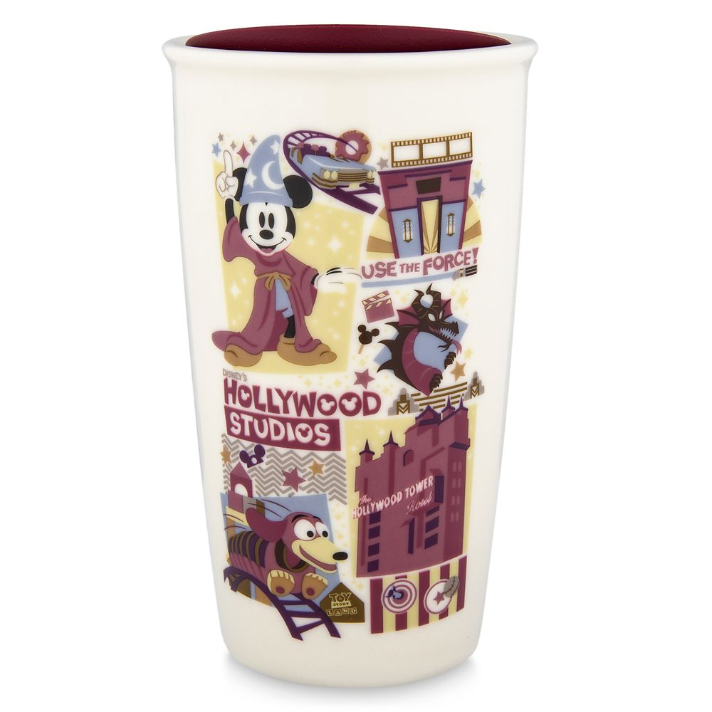 Disney's Hollywood Studios Starbucks Ceramic Travel Tumbler