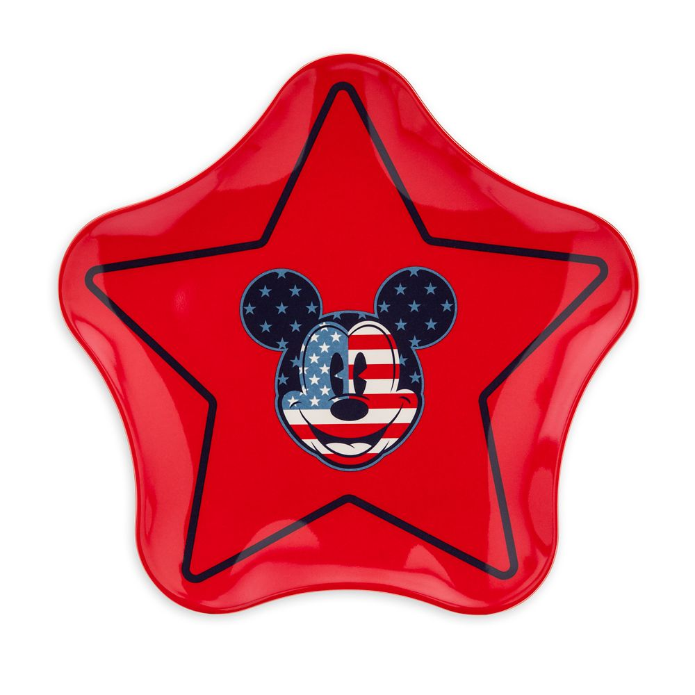 Mickey Mouse Americana Star Plate