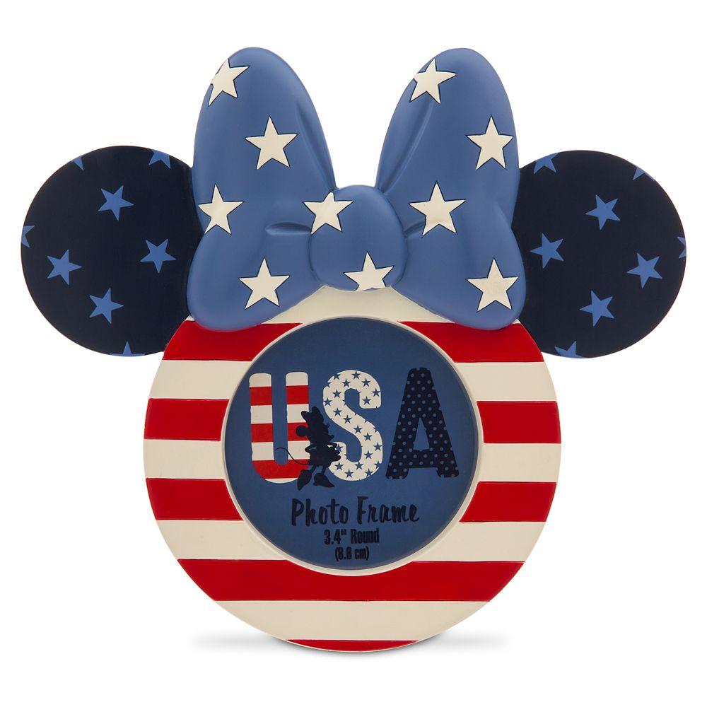 Minnie Mouse Americana Photo Frame  3 1/2'' x 3 1/2'' Official shopDisney