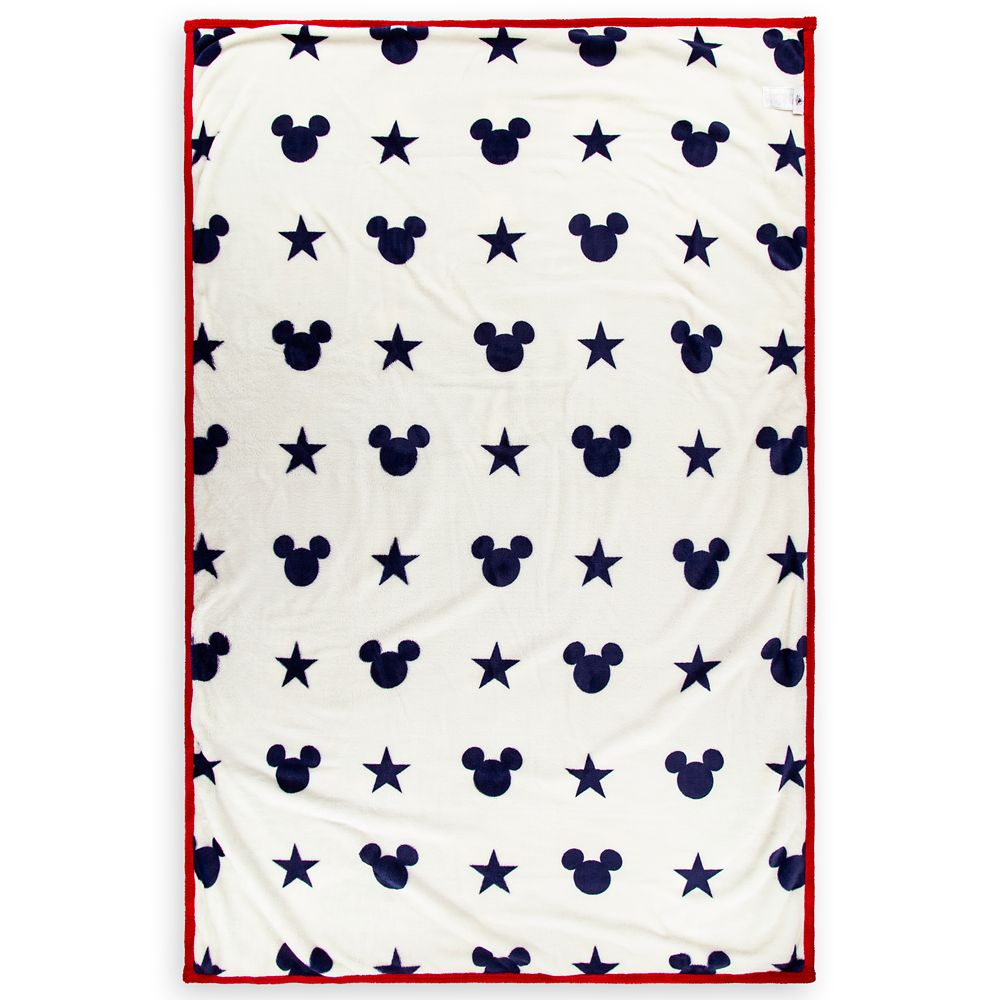Mickey Mouse Americana Reversible Throw