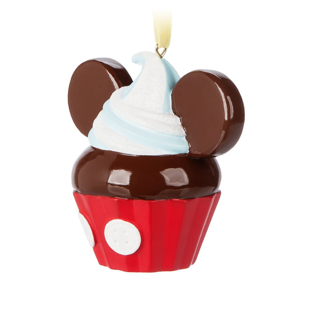 Mickey Mouse Cupcake Ornament