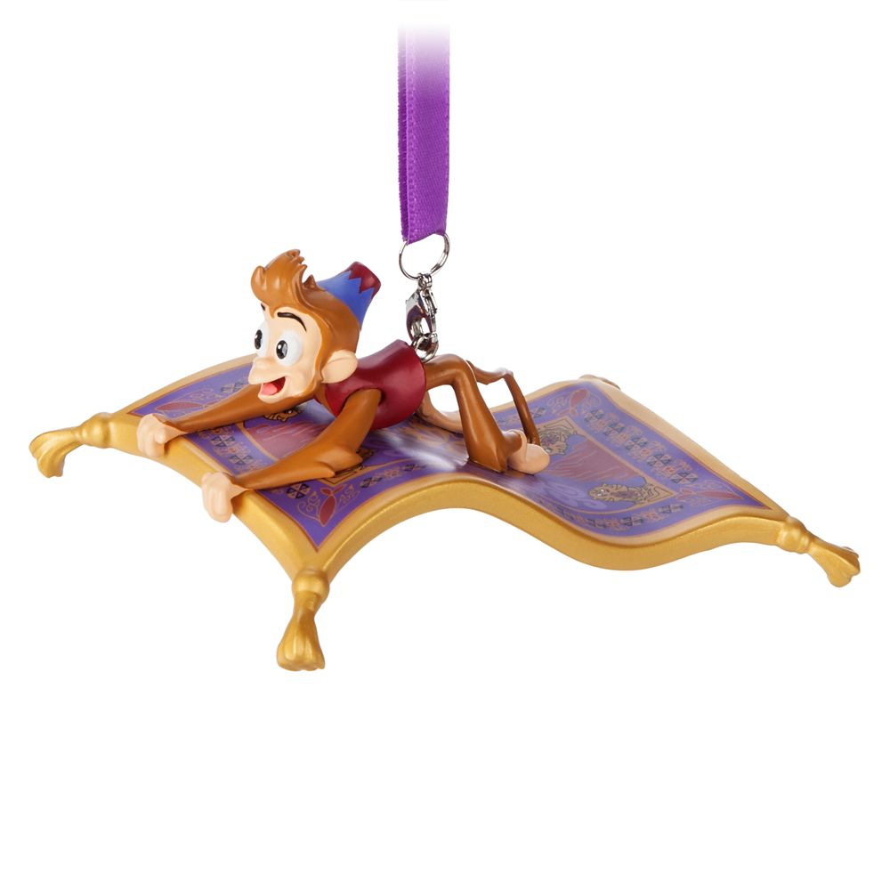 Abu and Magic Carpet Figural Ornament  Aladdin Official shopDisney