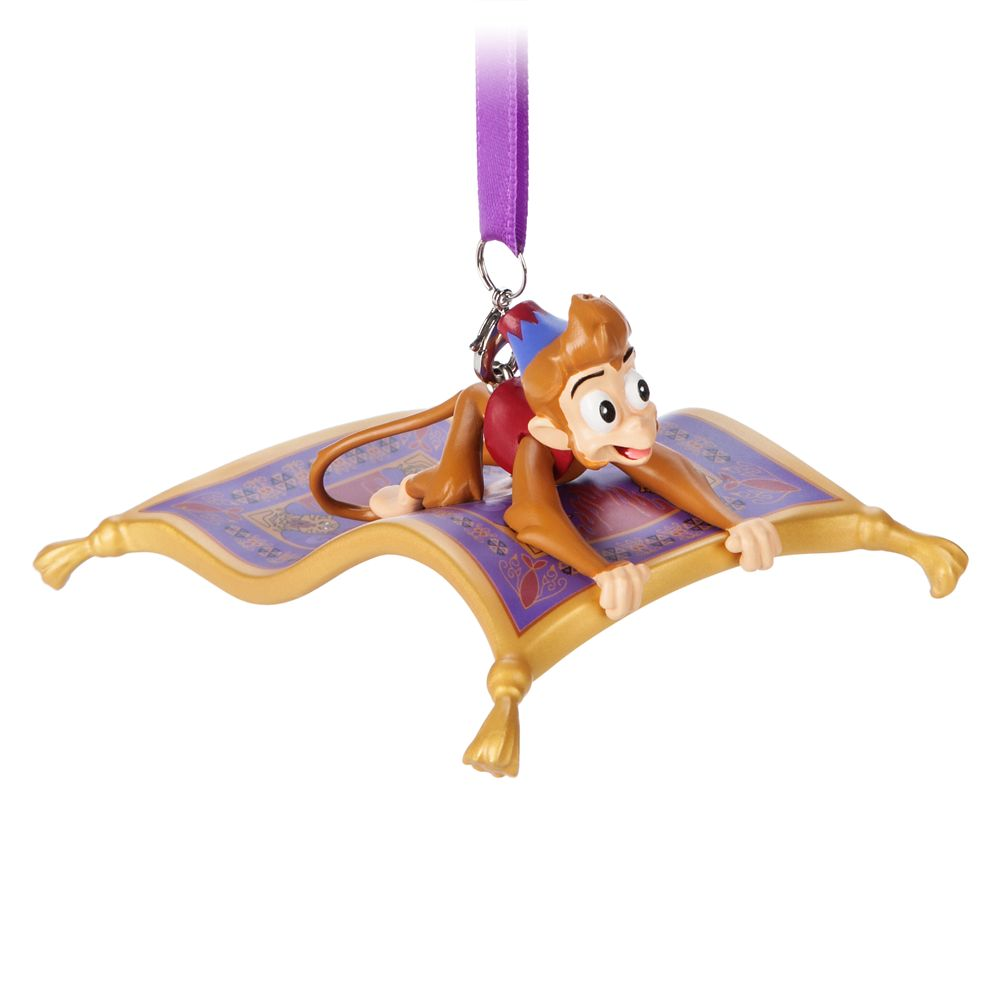 Abu and Magic Carpet Figural Ornament – Aladdin
