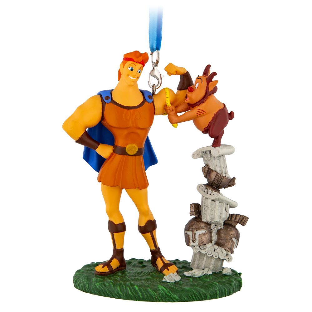 Hercules and Phil Figural Ornament