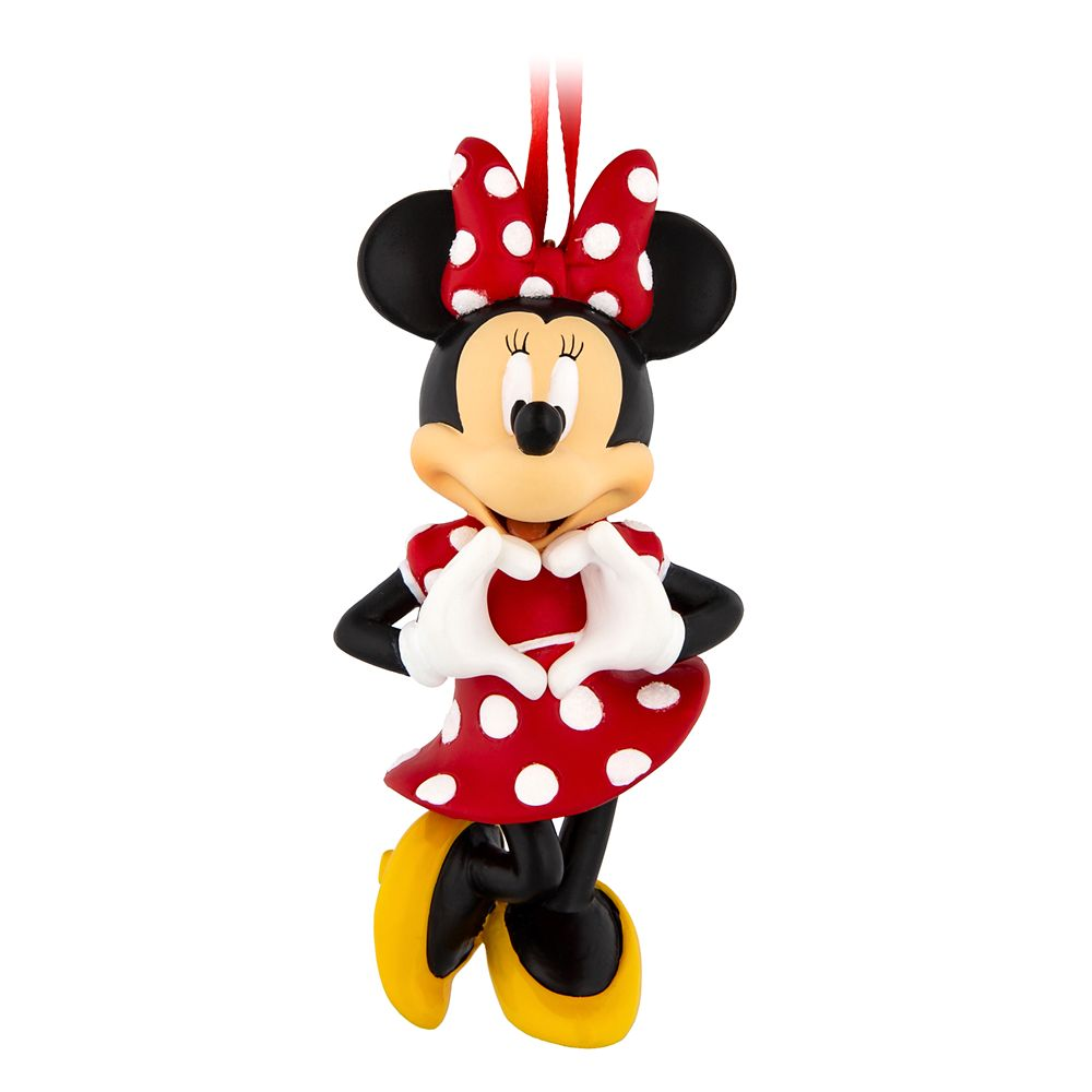 Minnie Mouse Figural Ornament