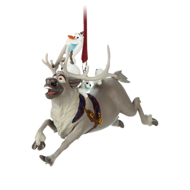 Olaf and Sven Figural Ornament – Frozen