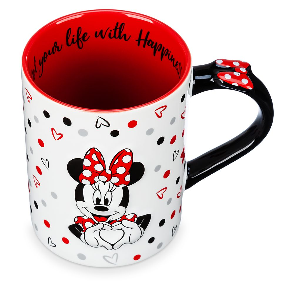 Minnie Mouse ''Dot Your Life...'' Mug