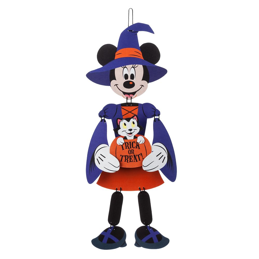 Minnie Mouse Witch Wall Decoration
