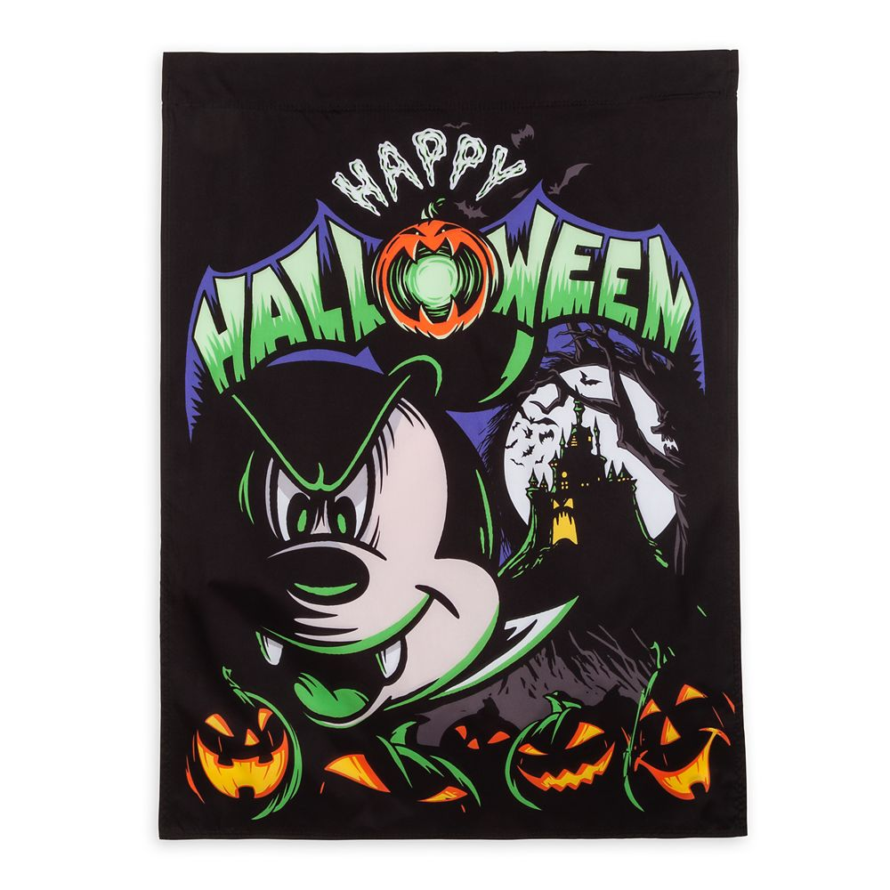Mickey Mouse Halloween Yard Flag