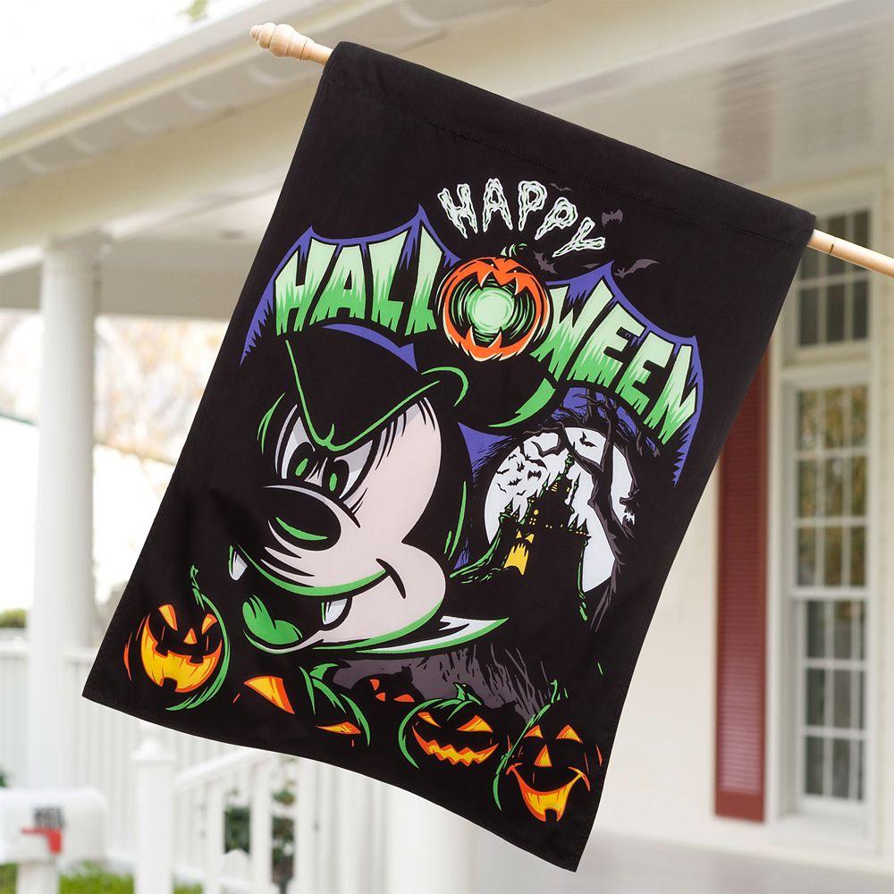 Mickey Mouse Halloween Yard Flag