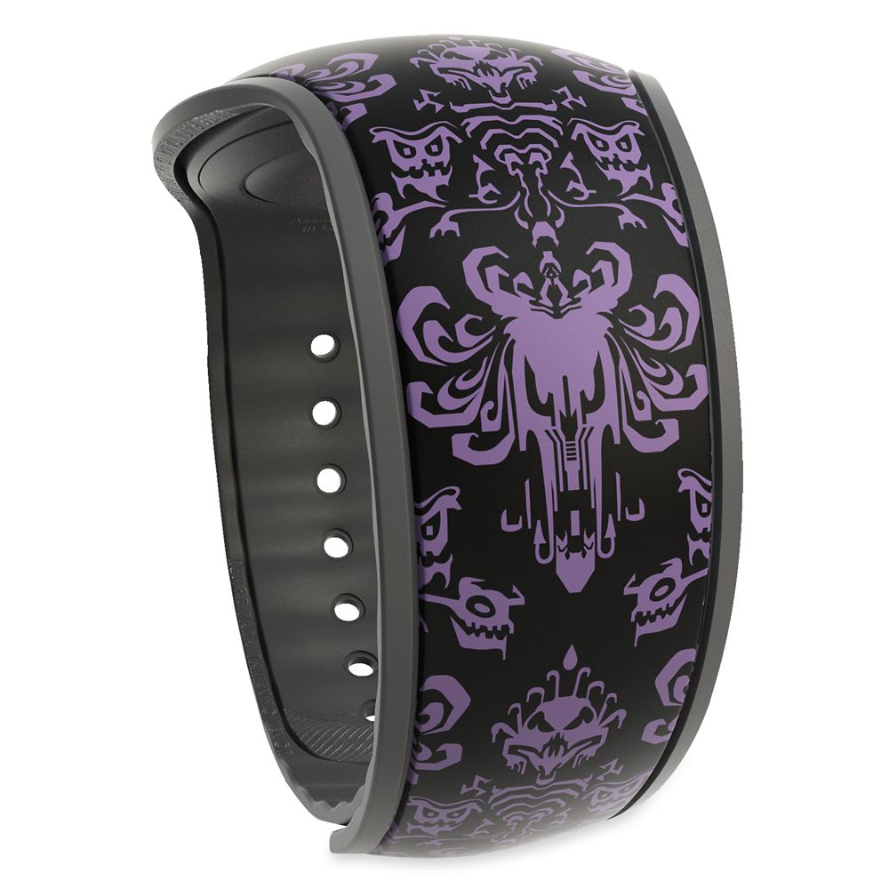 The Haunted Mansion Wallpaper MagicBand 2  Black Official shopDisney