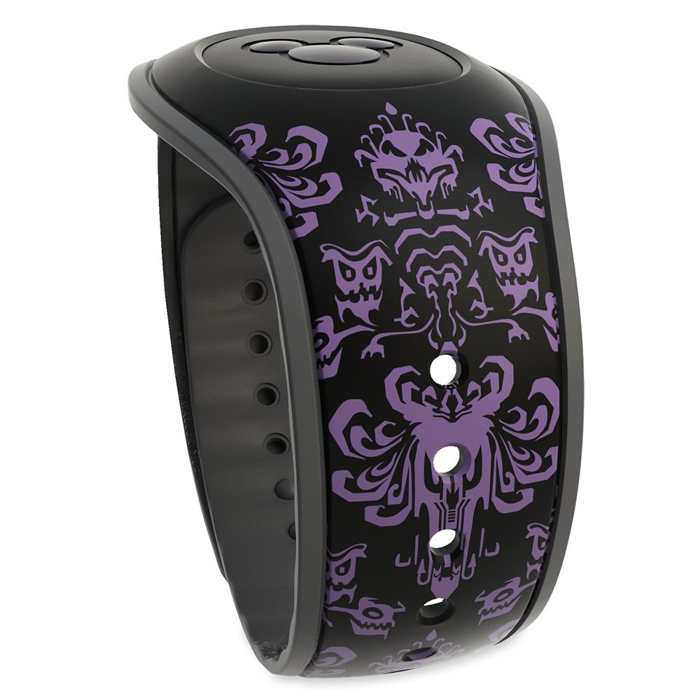The Haunted Mansion Wallpaper MagicBand 2 – Black