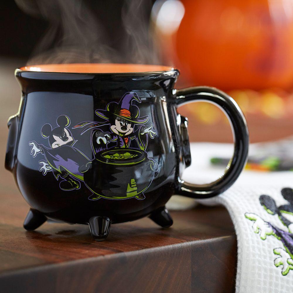 Mickey and Minnie Mouse Cauldron Mug