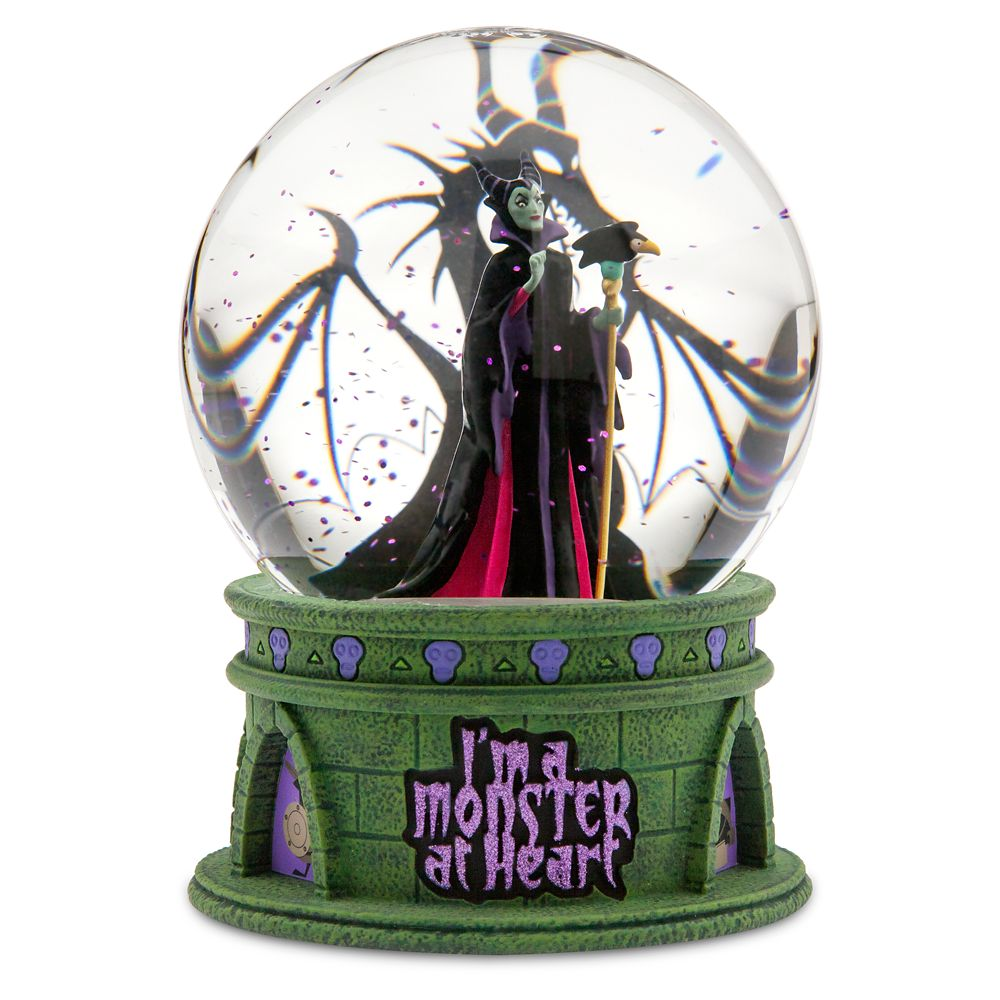 Maleficent Light-Up Snowglobe