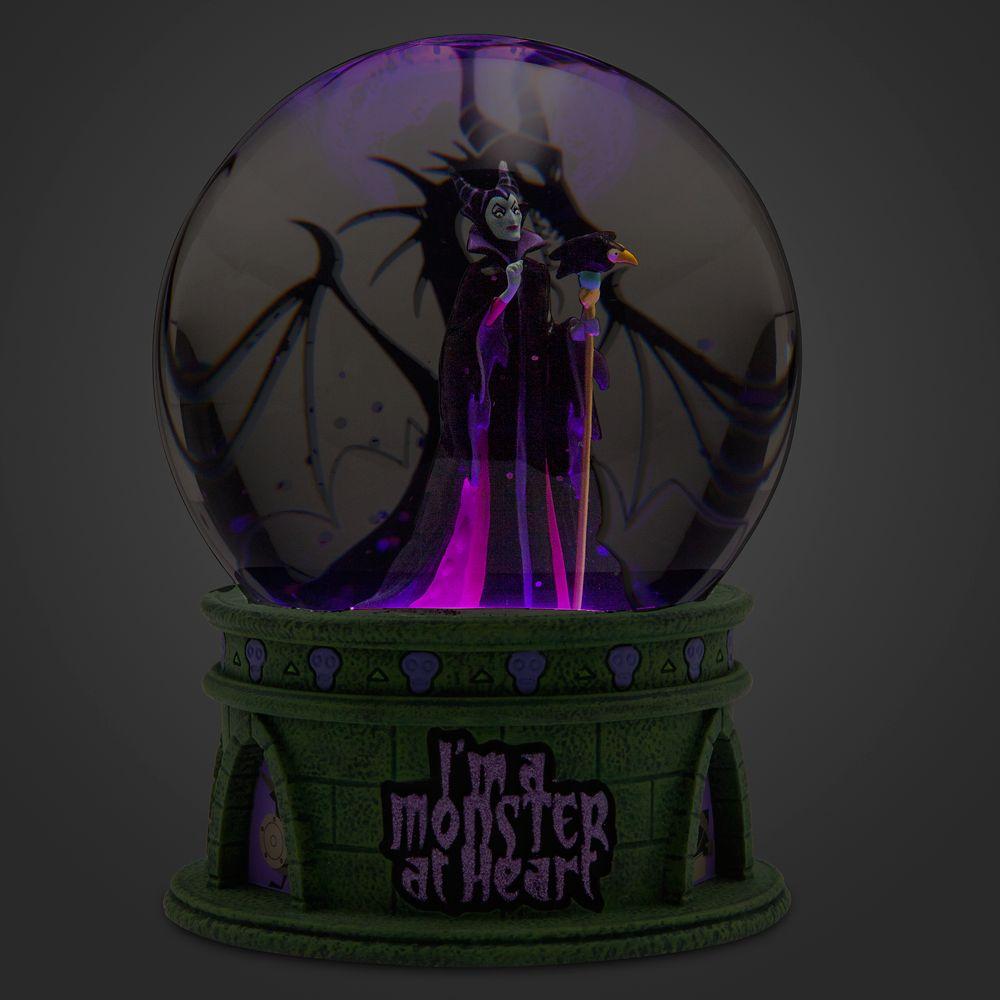 Maleficent Light-Up Snowglobe