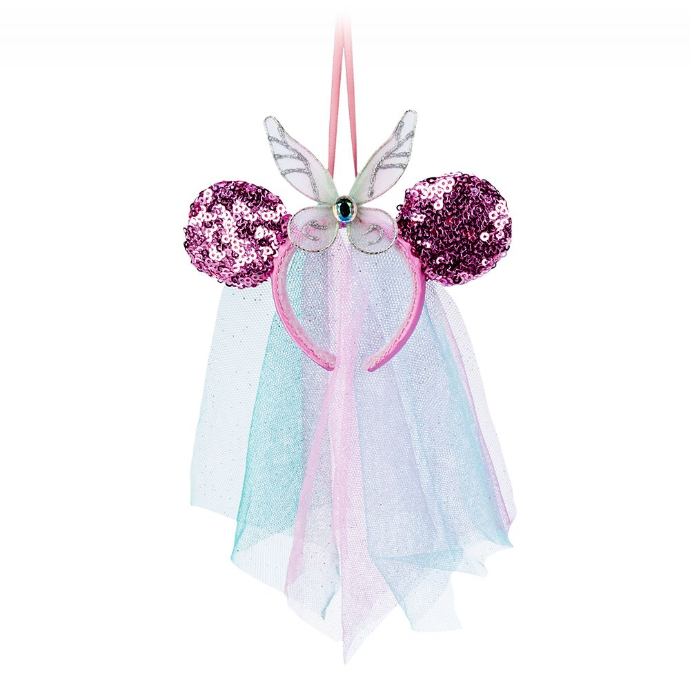 Minnie Mouse Fairy Wings Headband Ornament