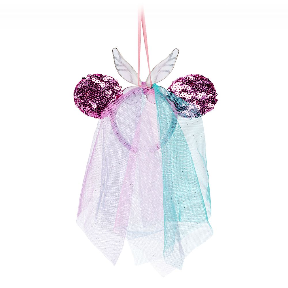 Minnie Mouse Fairy Wings Headband Ornament