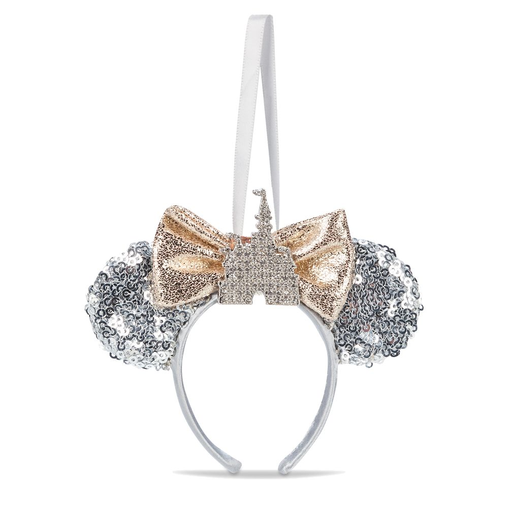 Minnie Mouse Fantasyland Castle Ear Headband Ornament