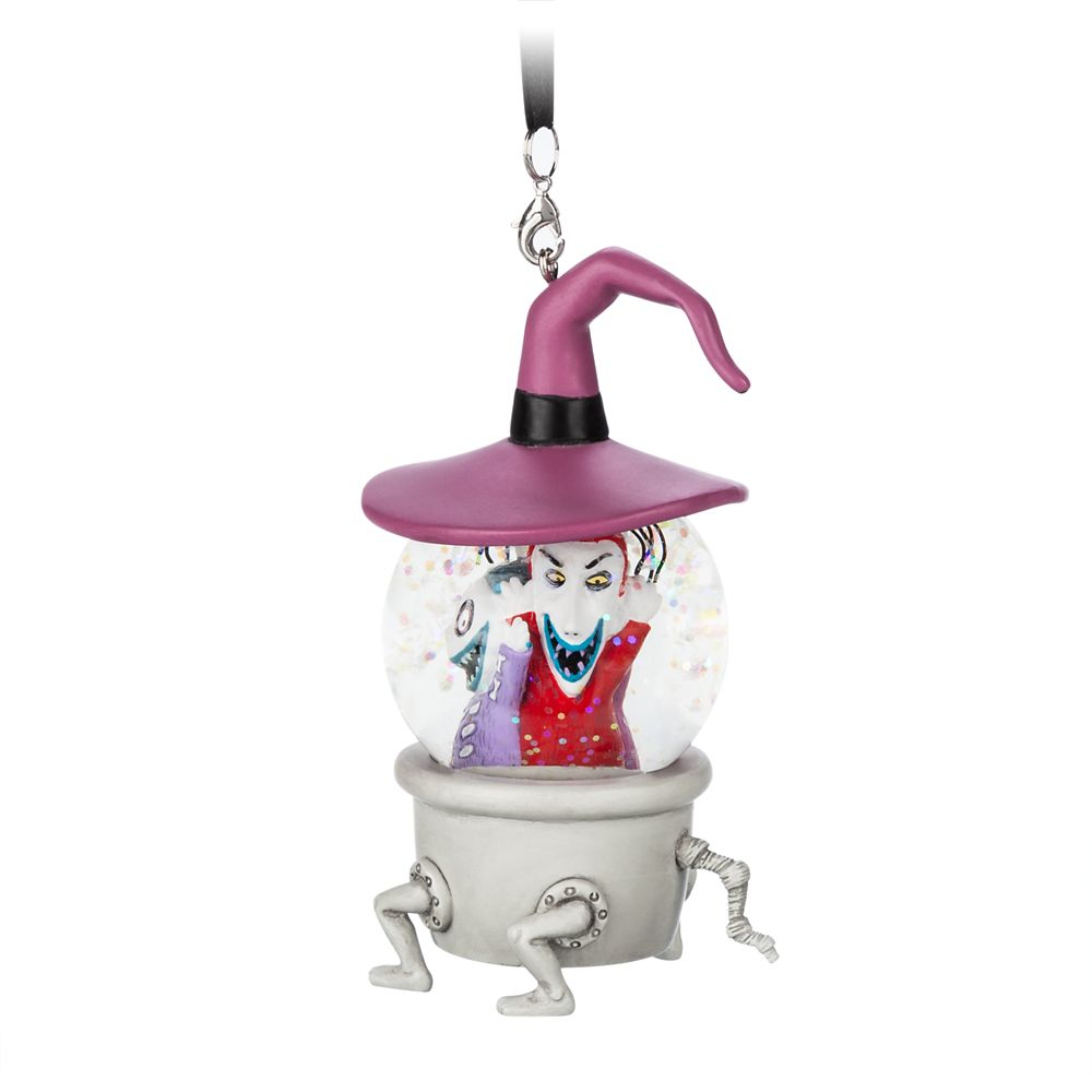 Lock, Shock, and Barrel Mini Snowglobe Ornament
