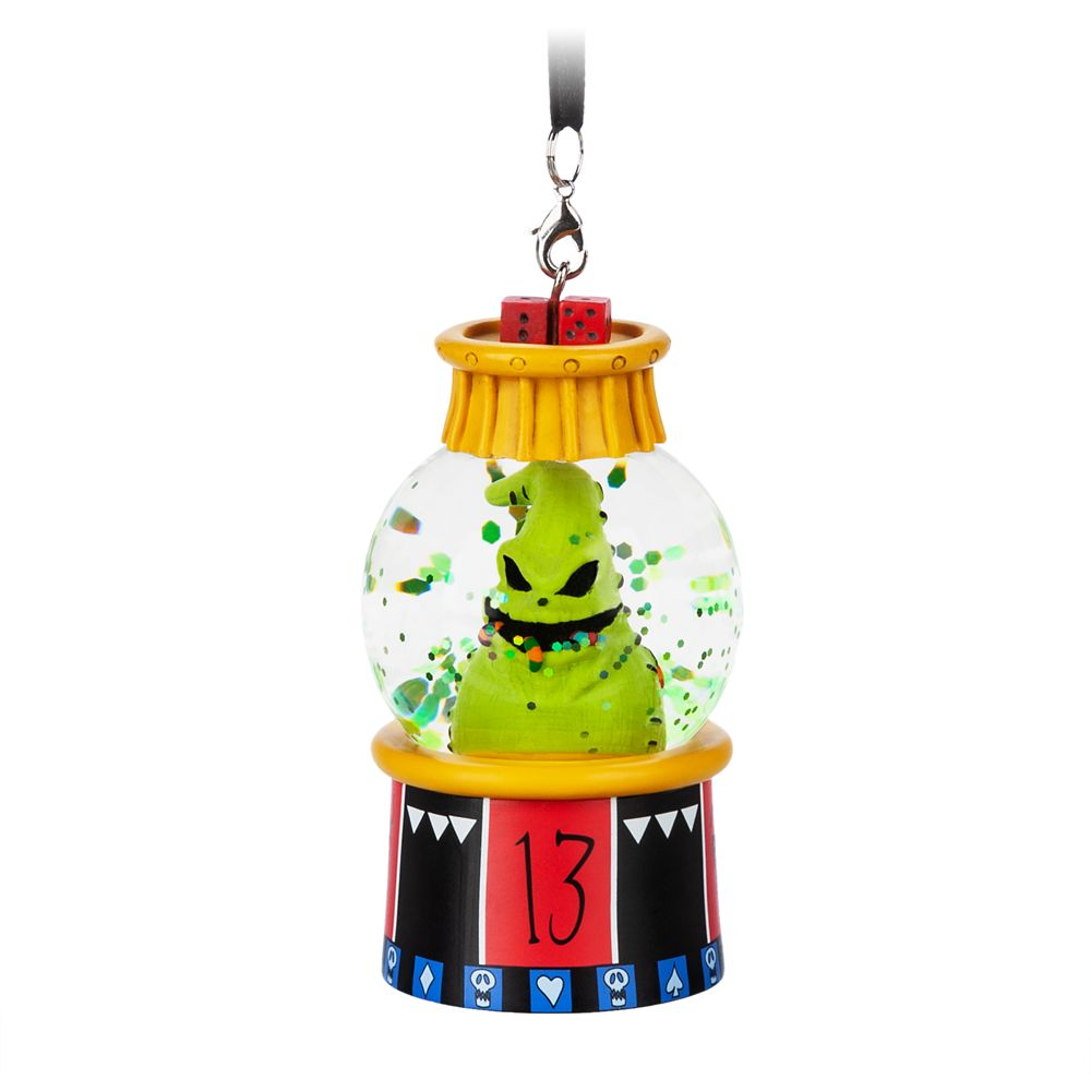 Oogie Boogie Mini Snowglobe Ornament