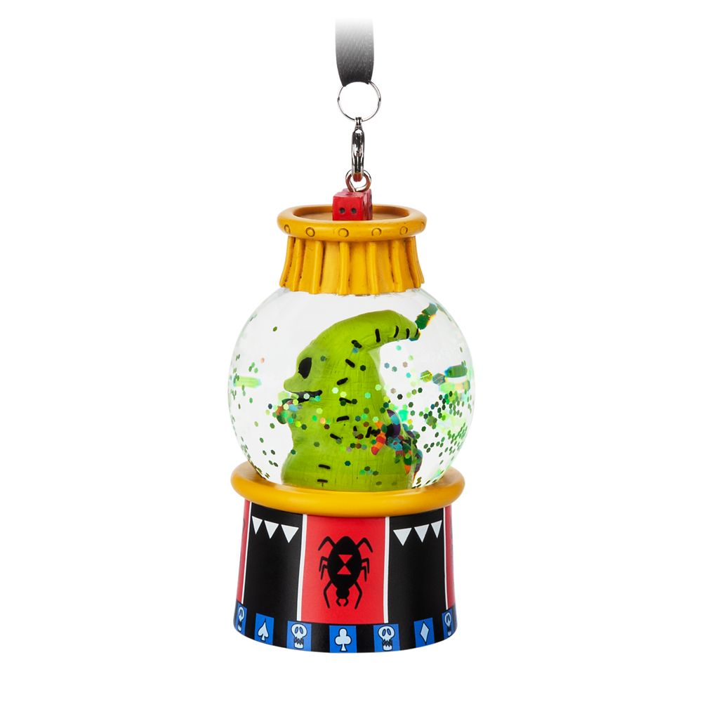 Oogie Boogie Mini Snowglobe Ornament