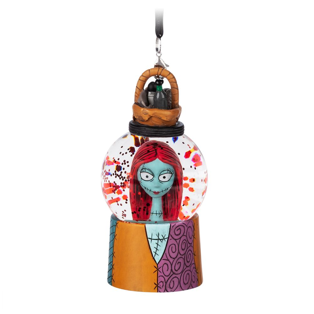 Sally Mini Snowglobe Ornament