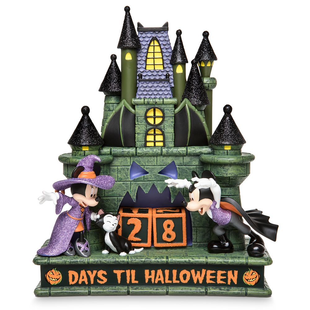 Mickey and Minnie Mouse Halloween Countdown Calendar Official shopDisney Disney Halloween merchandise