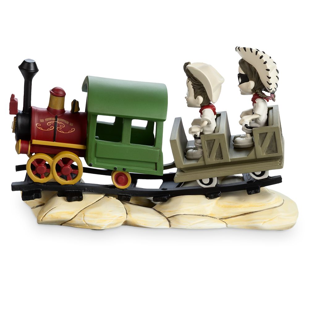 Big Thunder Mountain Railroad ''The Wildest Ride in the West'' Figure by Noah