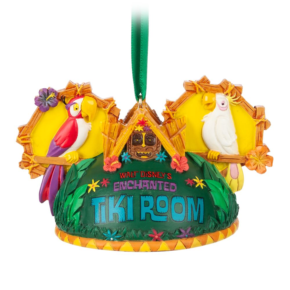 Enchanted Tiki Room Ear Hat Ornament