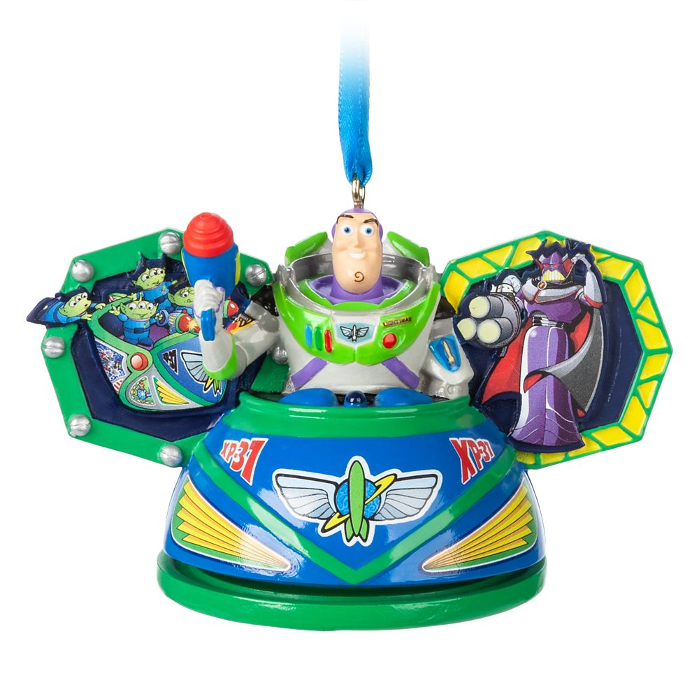 Buzz Lightyear Space Ranger Spin Ear Hat Ornament