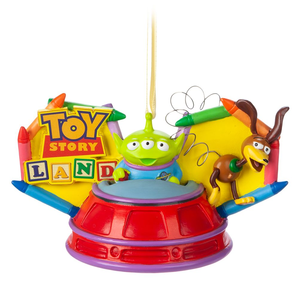 Toy Story Land Ear Hat Ornament