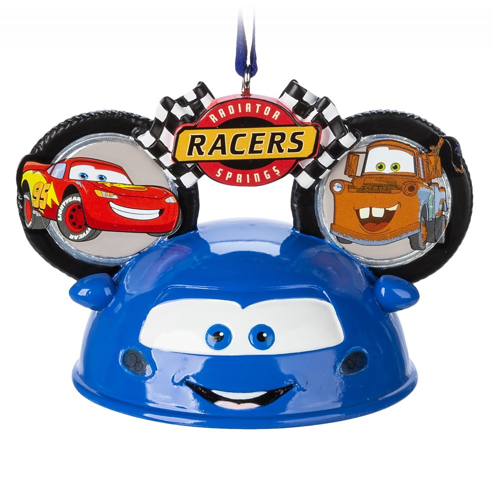 Radiator Springs Racers Light-Up Ear Hat Ornament