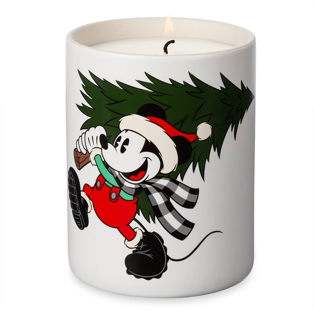 Mickey Mouse Holiday Candle