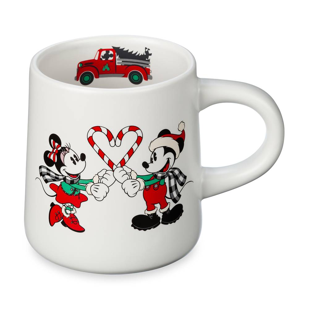 Mickey and Minnie Holiday Mug
