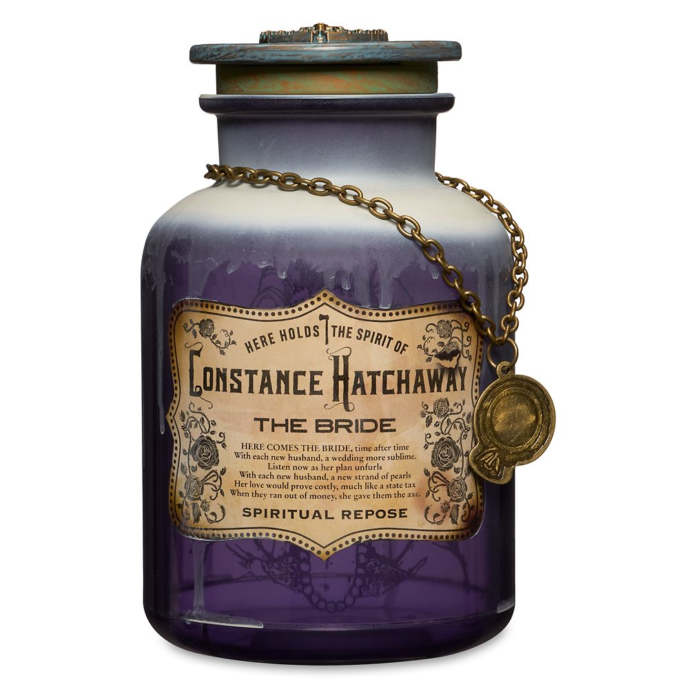 Constance Hatchaway (The Bride) Host A Ghost Spirit Jar – The Haunted Mansion